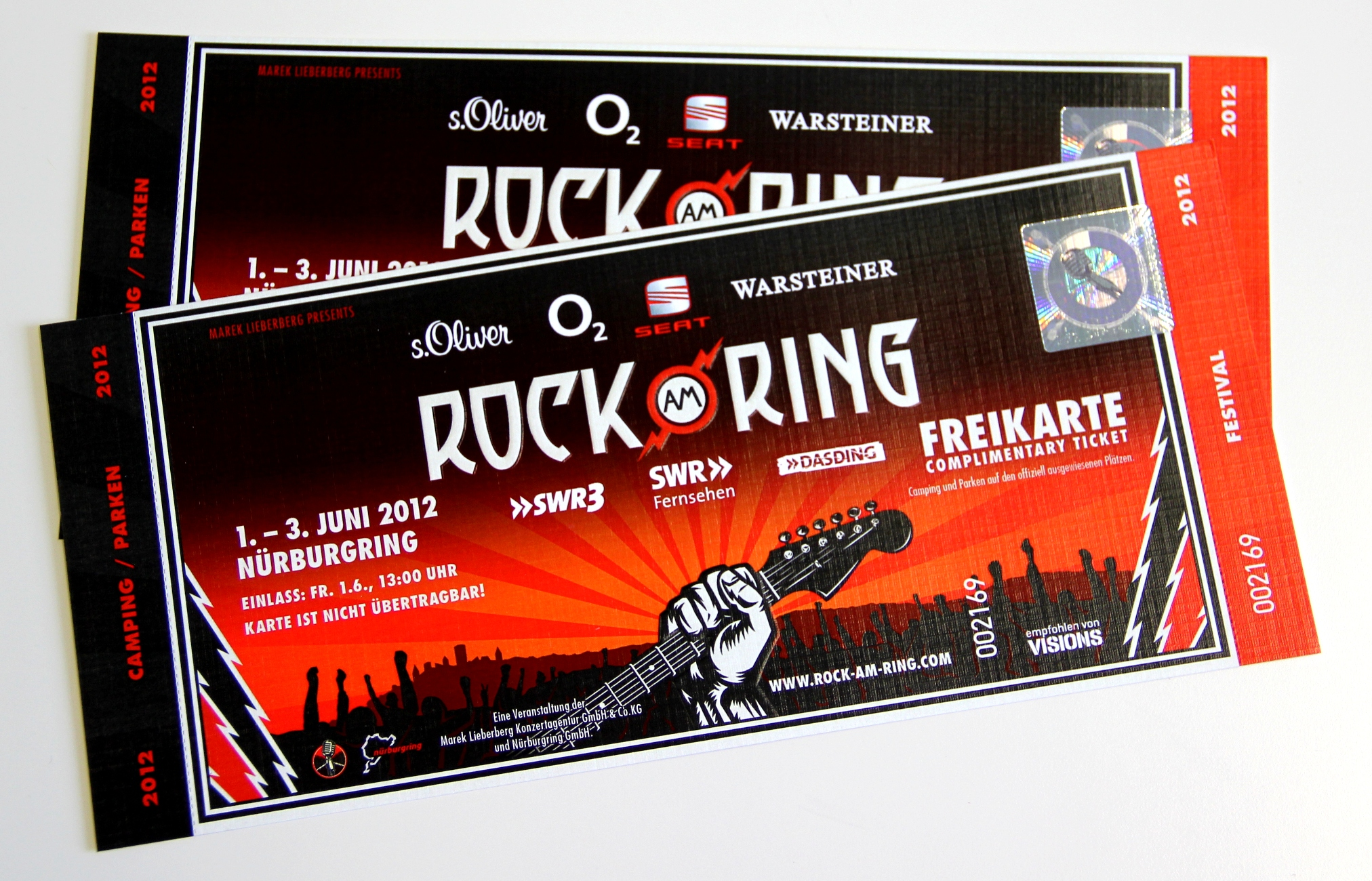 Gewinnt zwei Rock am Ring 2012-Tickets