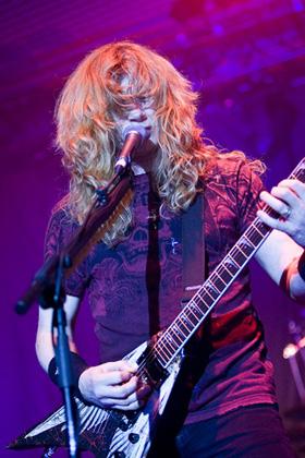 Dave Mustaine Megadeth Live Dortmund 2009