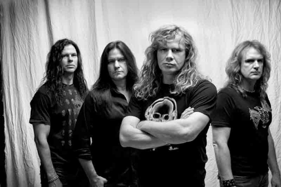 Megadeth, Promo-Bild, 2011