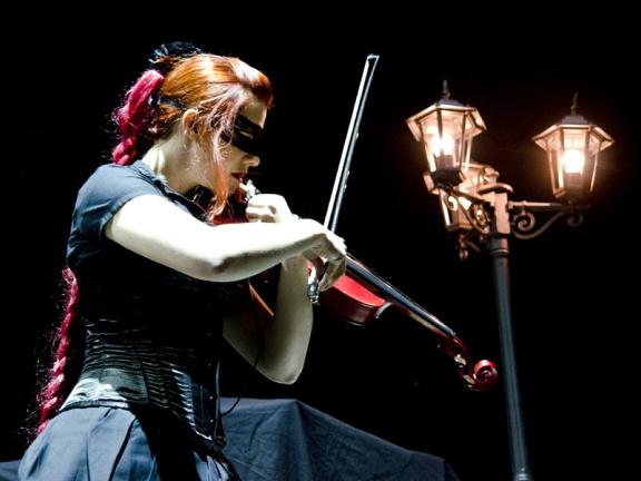 Eklipse als Vorband für Nightwish 2012