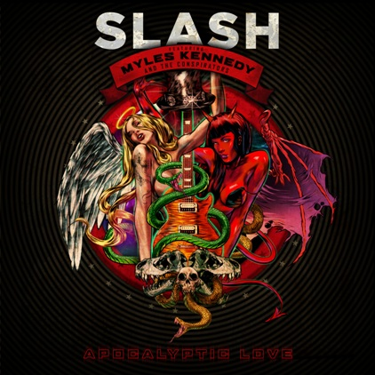 Slash Apocalyptic Love Cover