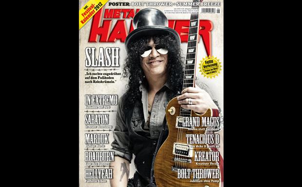 METAL HAMMER Juni 2012 mit Slash
