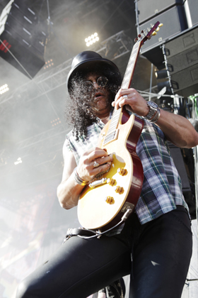 Slash live, Rock am Ring 2010