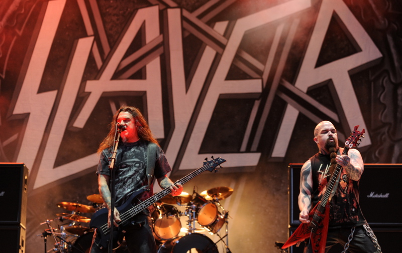 Slayer, live, Bang Your Head 2011
