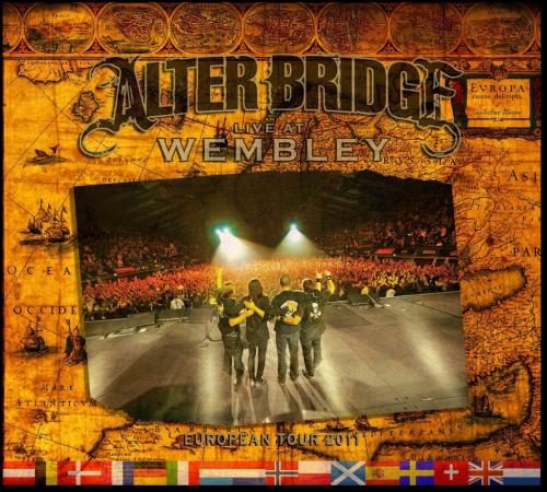 Alter Bridge Live At Wembley Cover