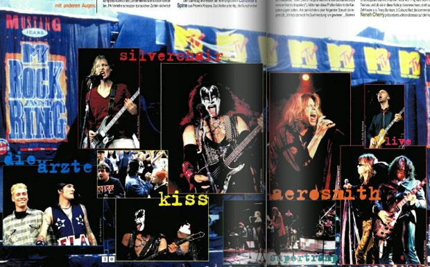Rock am Ring im METAL HAMMER 07/1997