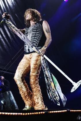 Aerosmith live, 25. bis 27. Juni 2010