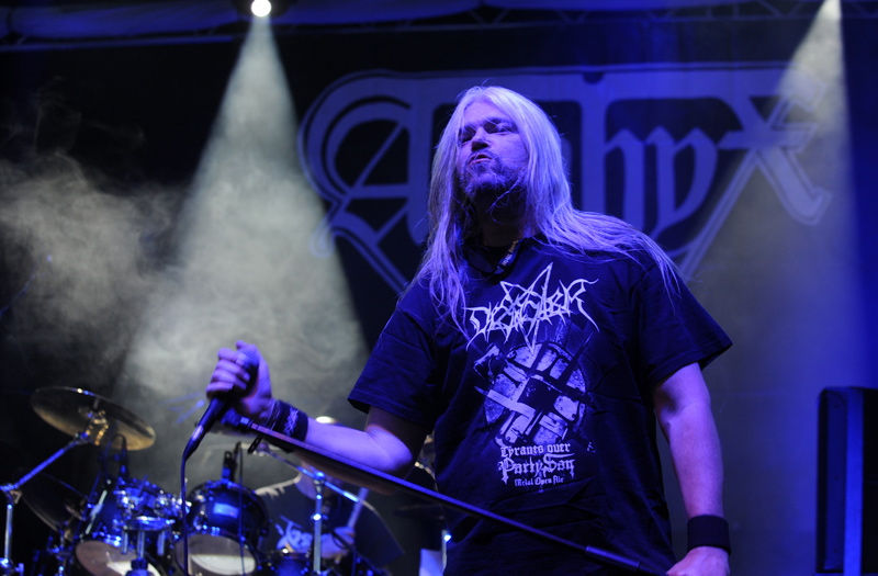 Asphyx, live, Bang Your Head 2011