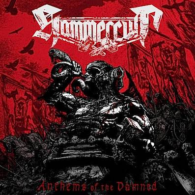 Hammercult Anthems Of The Damned Cover
