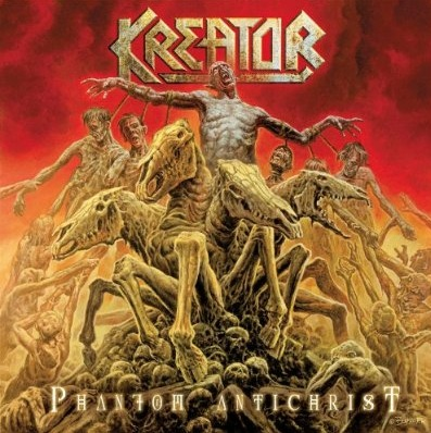 Kreator PHANTOM ANTICHRIST (2012) Cover