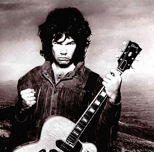 Gary Moore, Wild Frontier, Cover