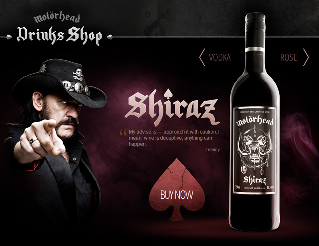 Motörhead Wein