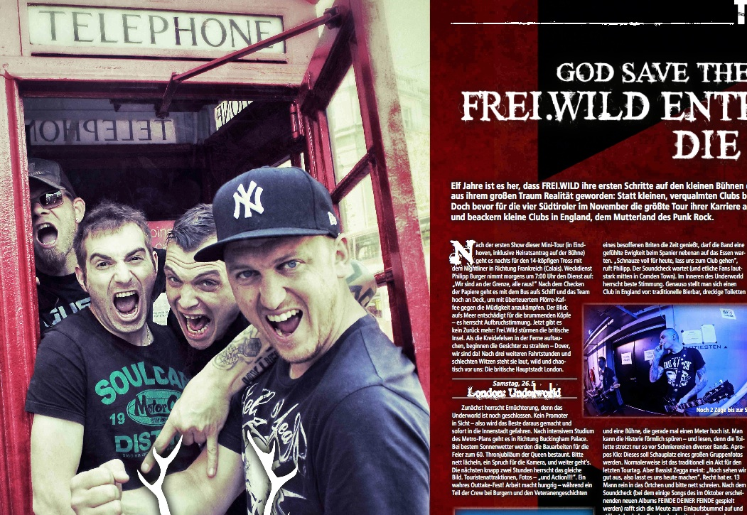 Frei.Wild im METAL HAMMER 07/2012