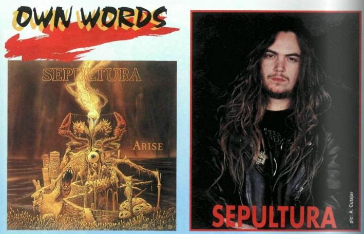 Sepultura im METAL HAMMER 05/1991