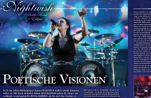 Nightwish in METAL HAMMER-Ausgabe 07/2012