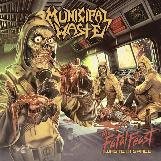 Municipal Waste The Fatal Feast Cover