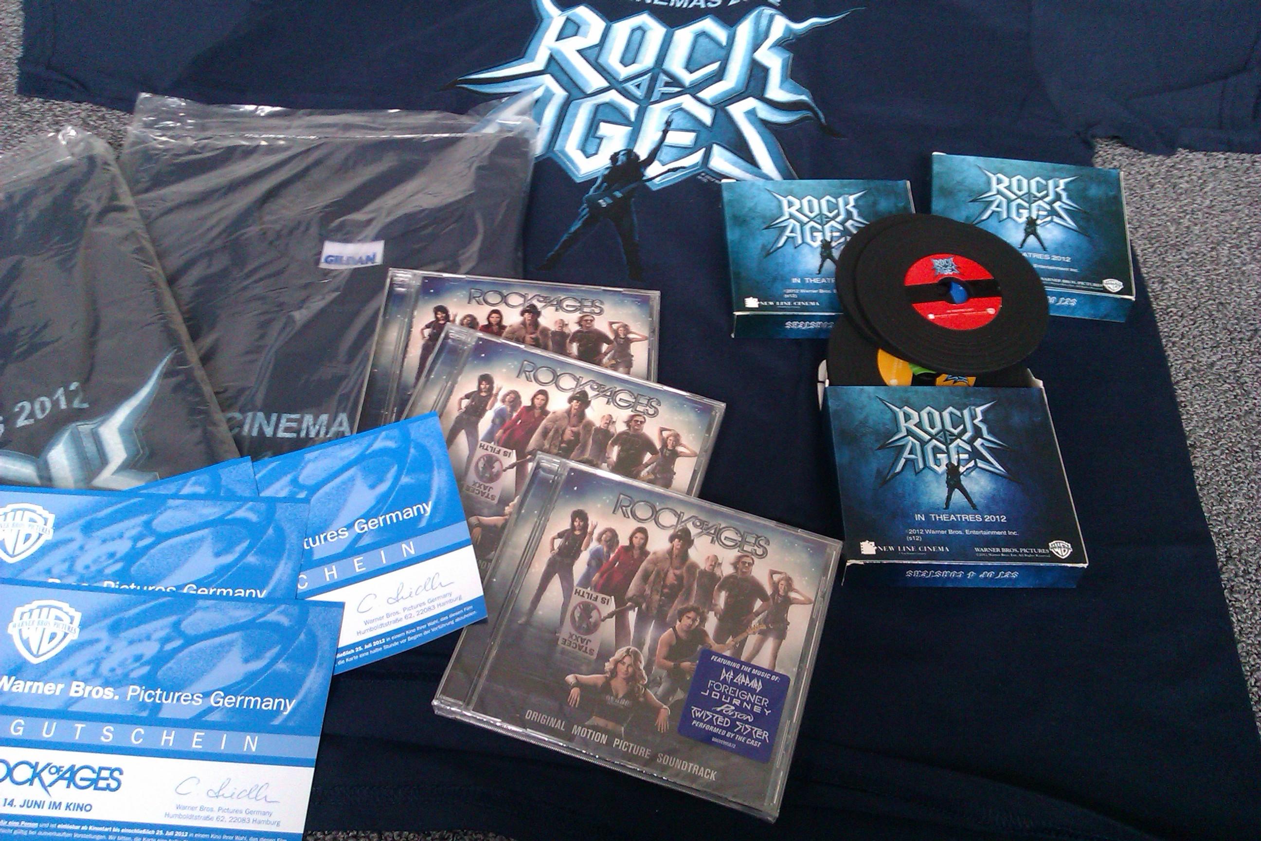 Verlosung zum Musical-Film 'Rock Of Ages'
