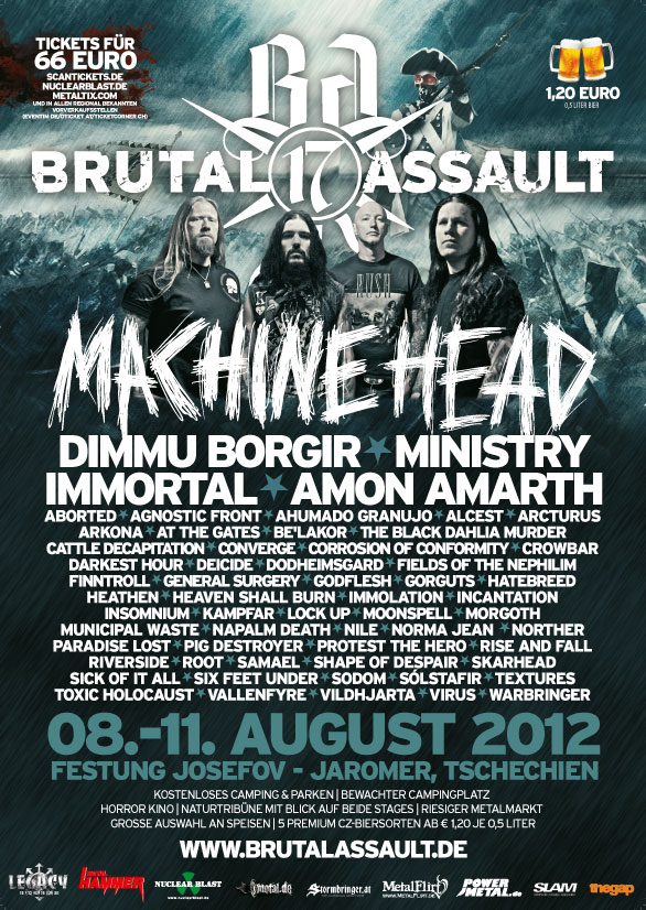Brutal Assault 2012 Flyer