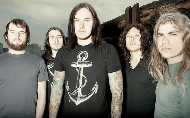 As I Lay Dying Promo Bild
