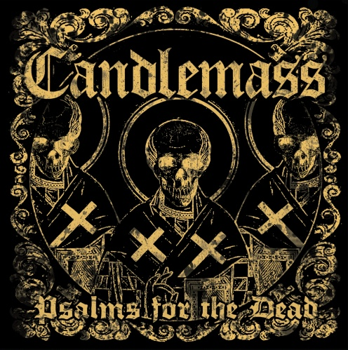Candlemass Psalms For The Dead Cover