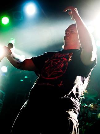 Cannibal Corpse, live, 09.02.2012 Hamburg, Markthalle