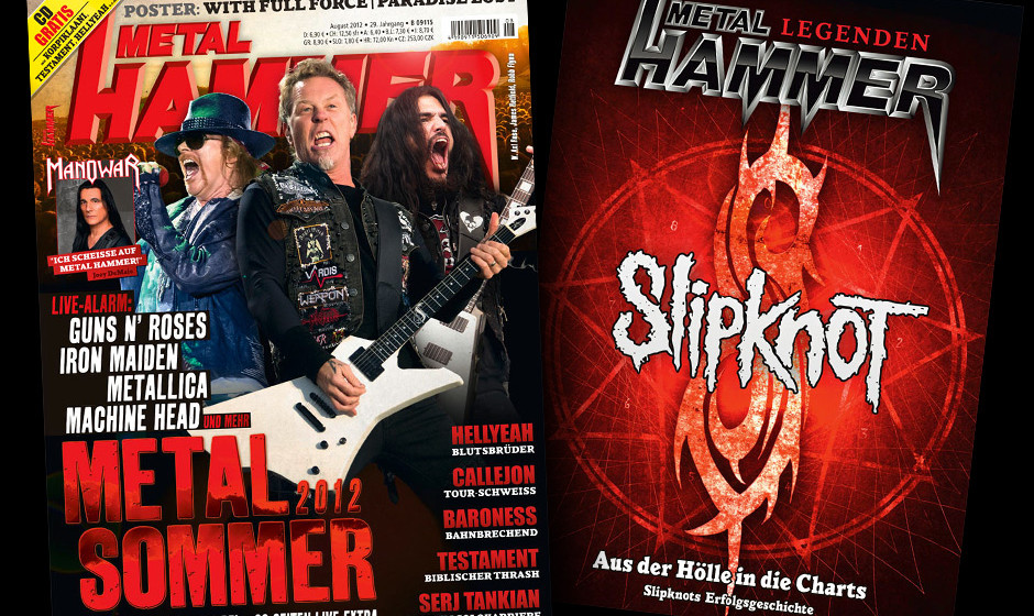 METAL HAMMER August 2012 mit Slipknot-Sonderheft