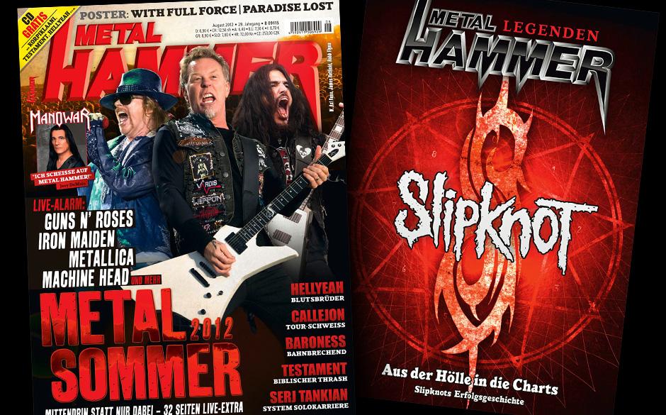 METAL HAMMER August 2012 mit Slipknot-Sonderheft