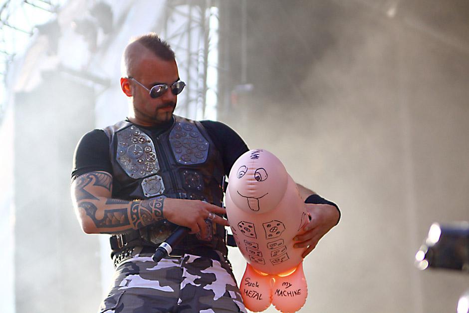 Sabaton live, Bang Your Head 2012