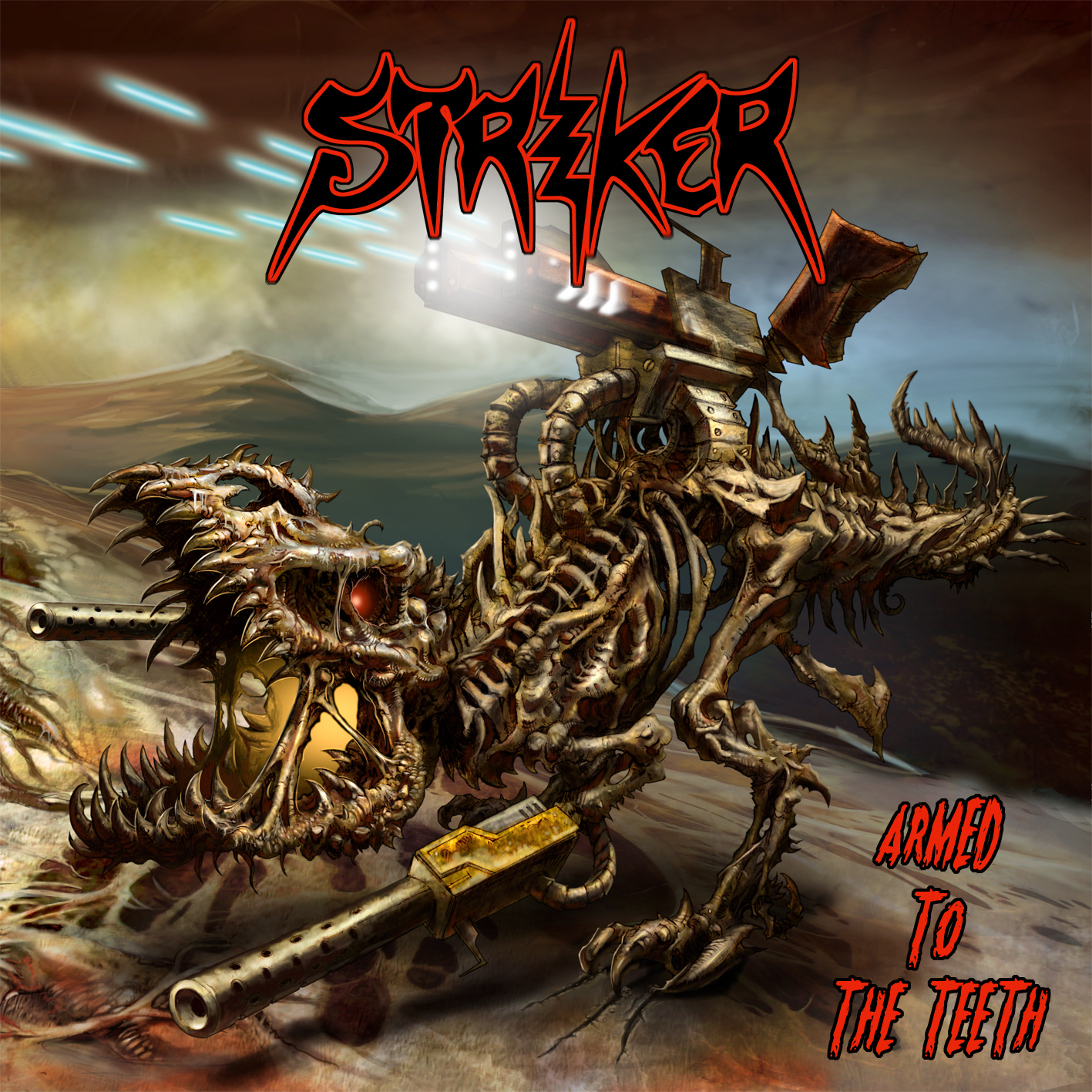 Striker ARMED TO THE TEETH (2012)