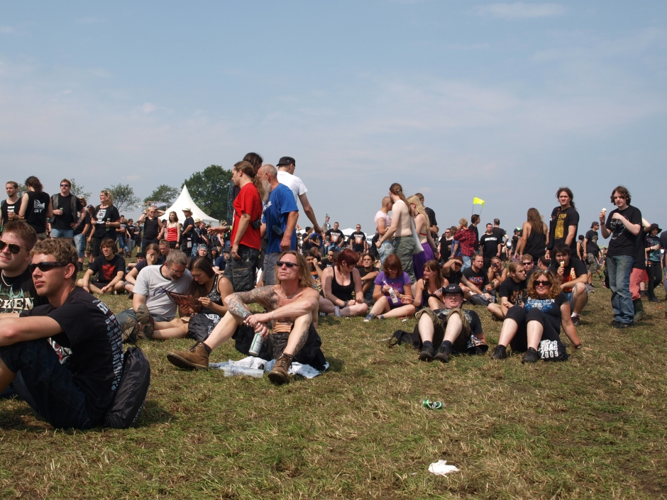 Wacken Open Air 2012: Fans und Gelände am Donnerstag
