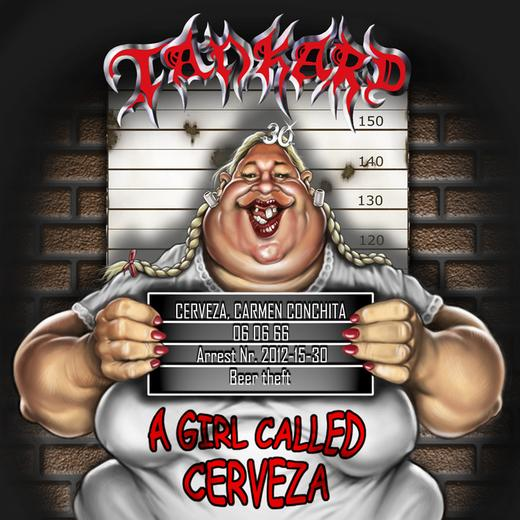 Tankard A Girl Called Cerveza Cover