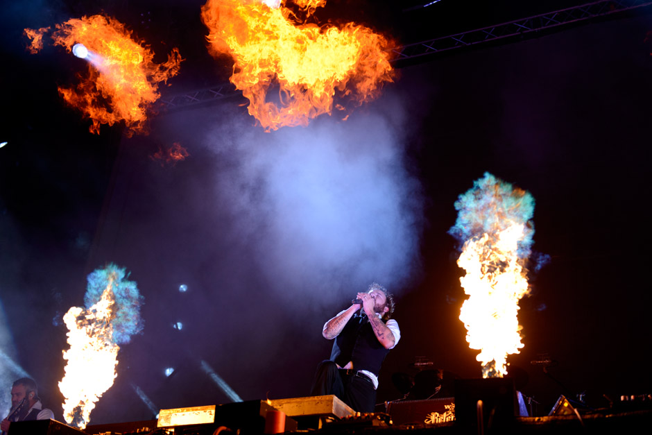 In Flames live,  Wacken Open Air 2012