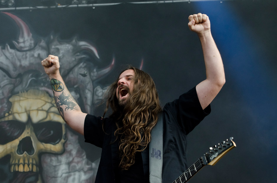 Sepultura live, Wacken 2012, 02.08.2012