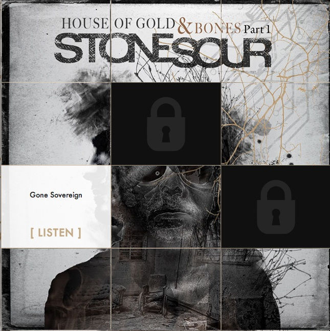 Stone Sour-Schnitzeljagd auf HOUSE OF GOLD & BONES - PART 1