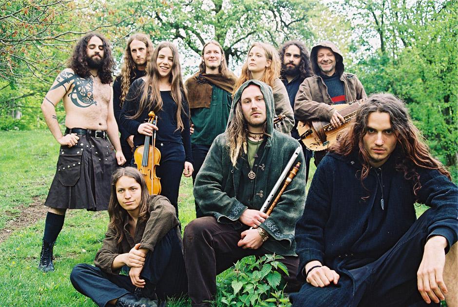 Eluveitie-History: Bandfotos vom Winter 2003