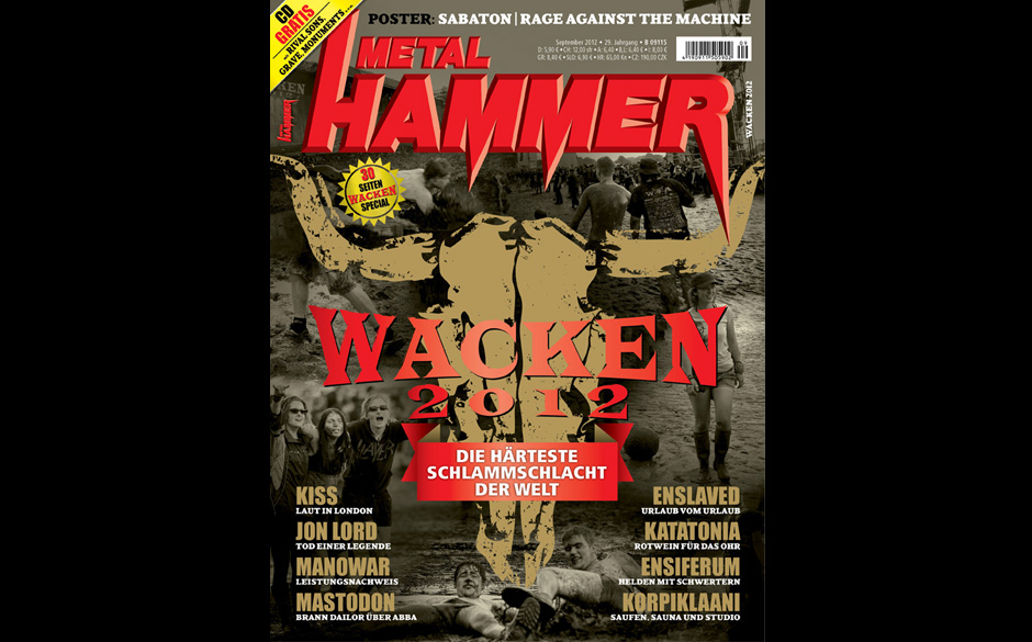 METAL HAMMER September 2012