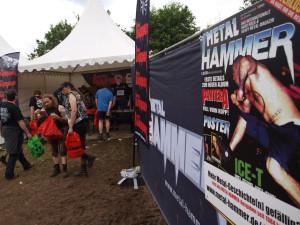 METAL HAMMER-Stand am Wacken Open Air 2012
