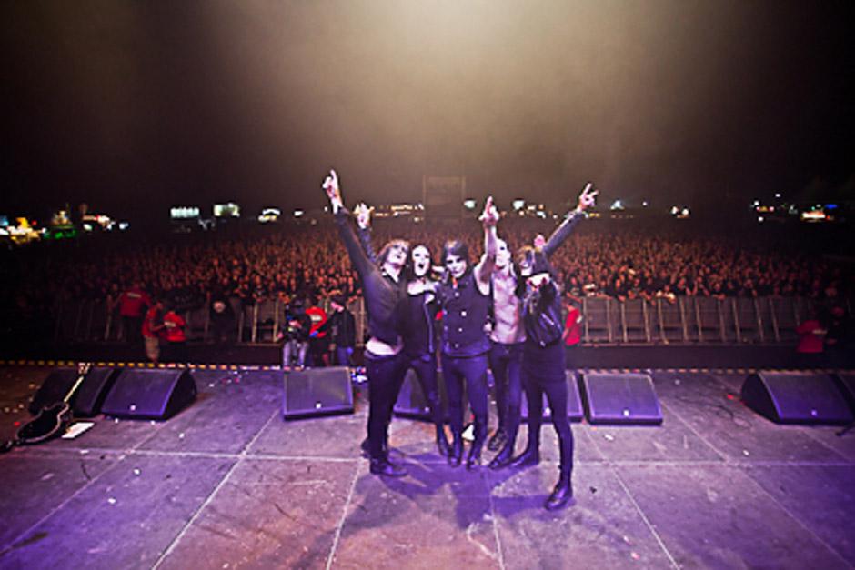 Deathstars live, Summer Breeze 2012