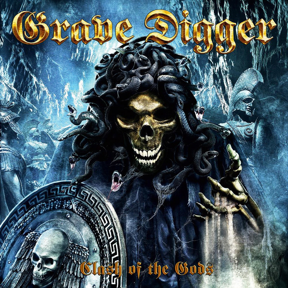 Grave Digger CLASH OF THE GODS Review in METAL HAMMER 09/2012