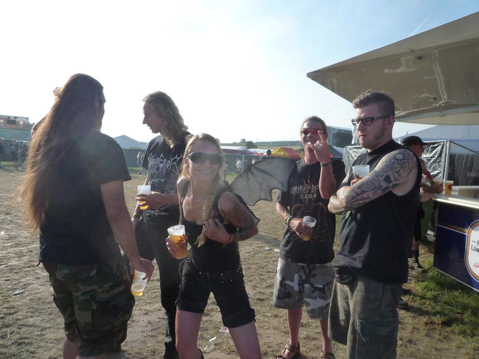 Fans auf dem Summer Breeze 2012