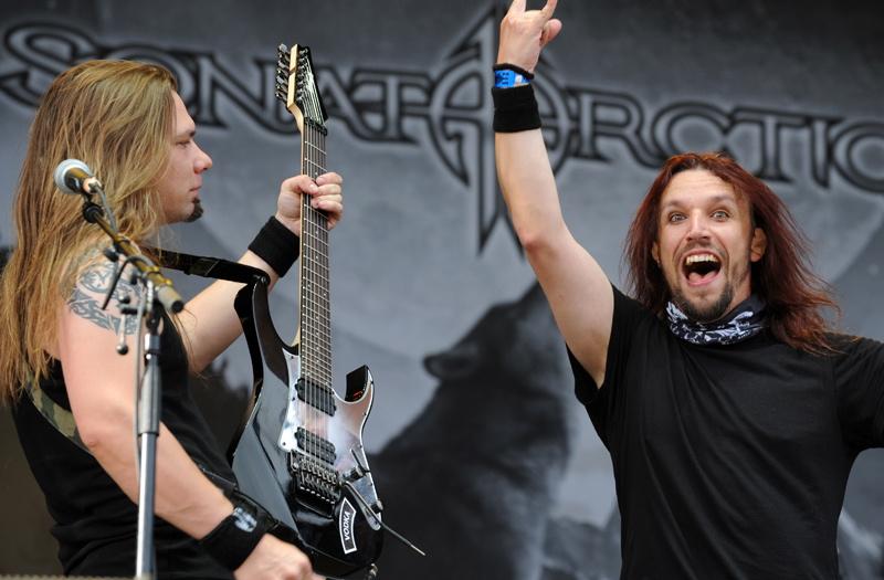 Sonata Arctica, live, Bang Your Head 2011