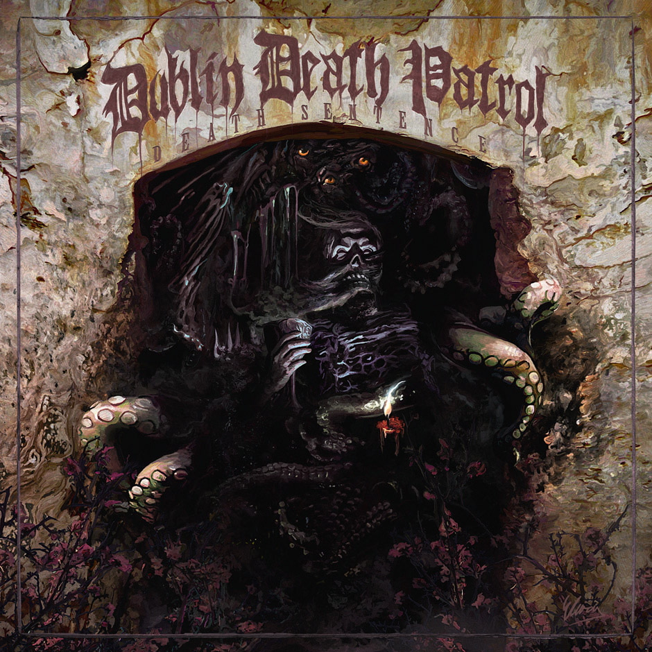 Dublin Death Patrol DEATH SENTENCE Review in METAL HAMMER 09/2012