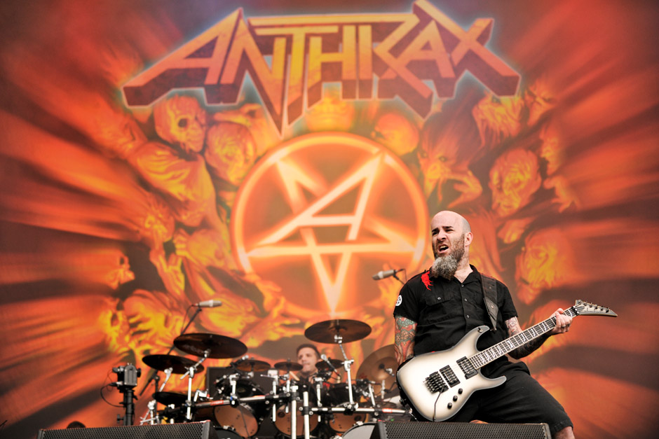 Anthrax live, Rock am Ring 2012
