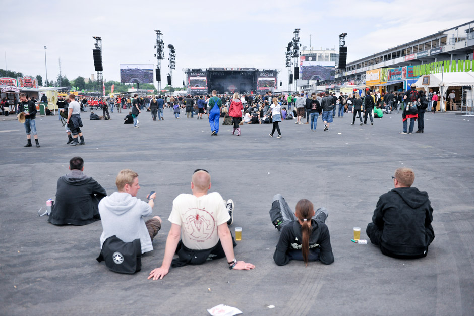 Publikum, Rock am Ring 2012