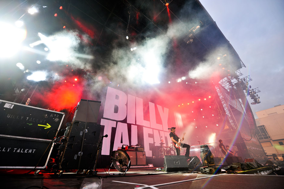 Billy Talent, Rock am Ring 2012