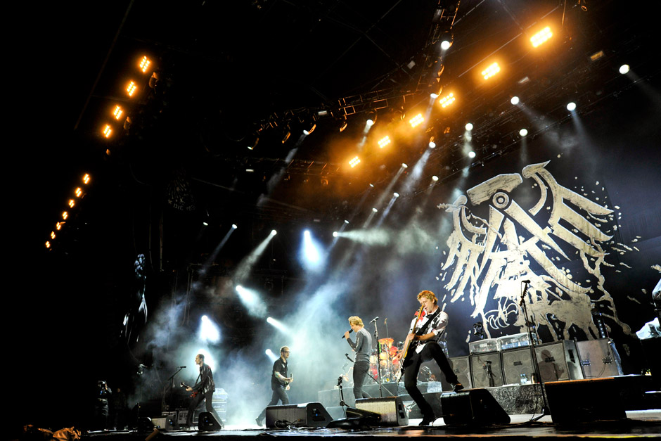 Die Toten Hosen, Rock am Ring 2012