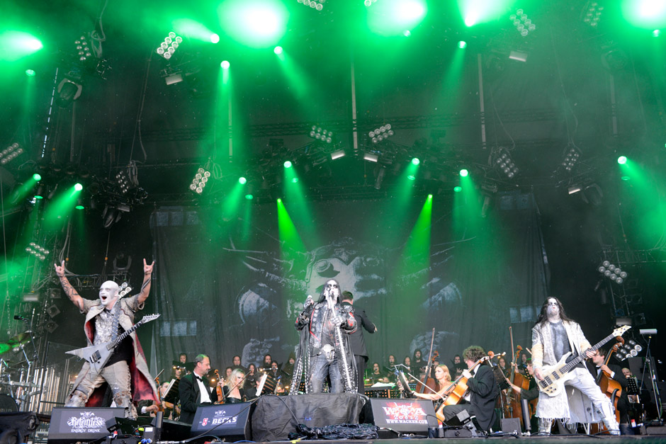 Dimmu Borgir live,  Wacken Open Air 2012