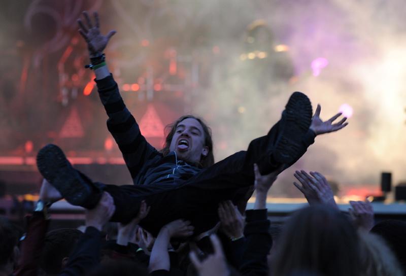 Publikum auf dem Metalfest 2012, Dessau