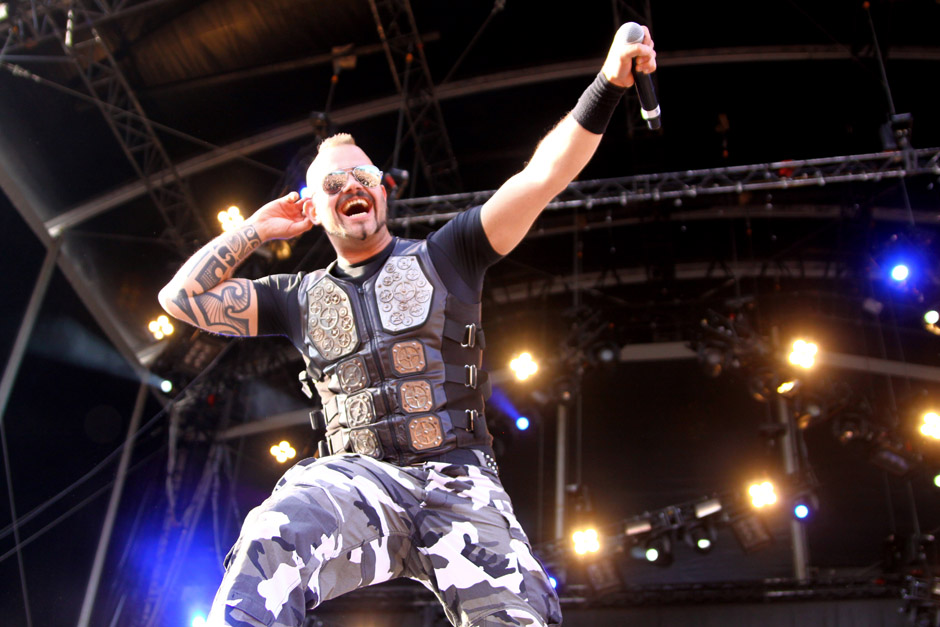 Sabaton live, Bang Your Head 2012