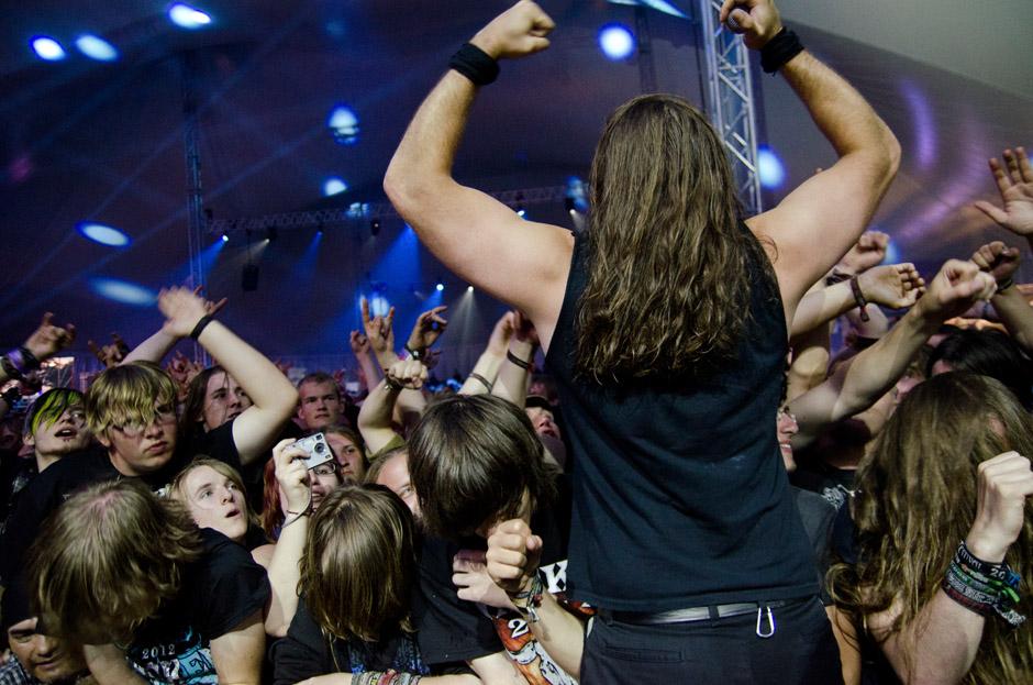Unearth live, Wacken 2012, 02.08.2012